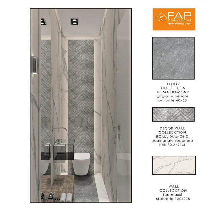 Fap Ceramiche Bathroom-SMALL WC 2A