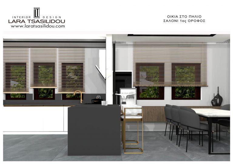 Villa-Pylio-internal-Living-room-1st-floor-7