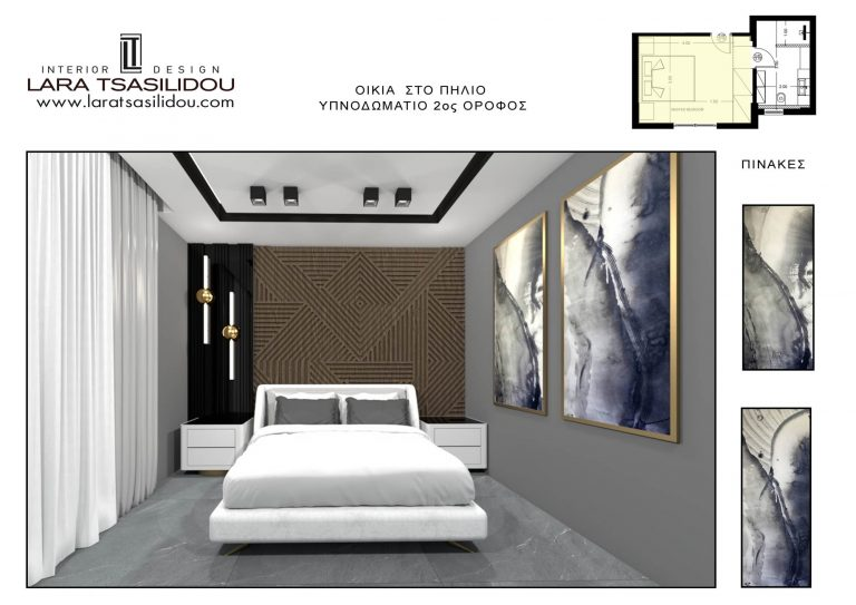 Villa-Pylio-internal-Master bedroom-1