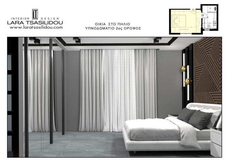 Villa-Pylio-internal-Master bedroom-2