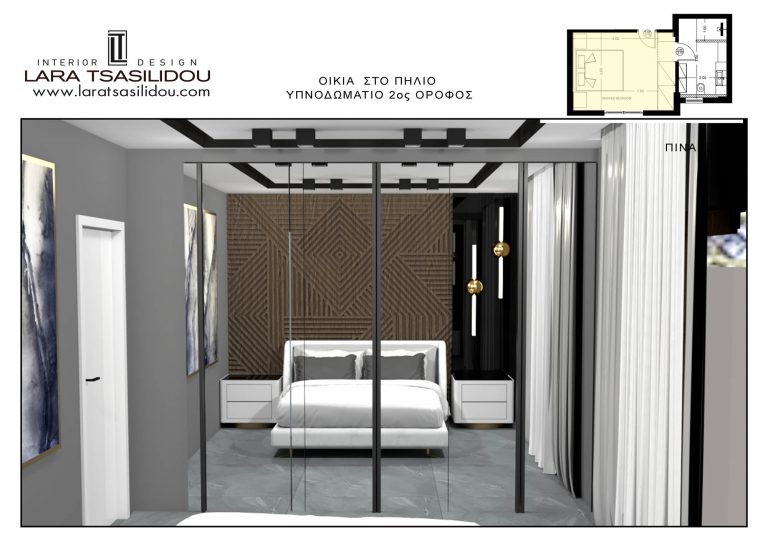 Villa-Pylio-internal-Master bedroom-3