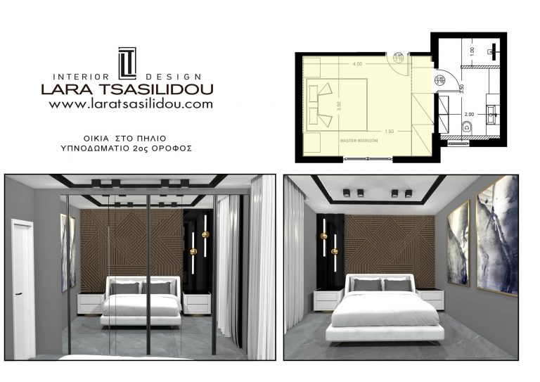 Villa-Pylio-internal-Master bedroom-4