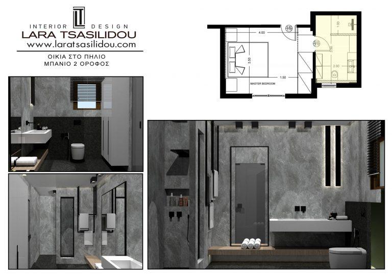 Villa-Pylio-internal-Master bedroom-5