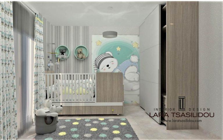 Παιδικό δωμάτιο Θεσσαλονίκη (1)