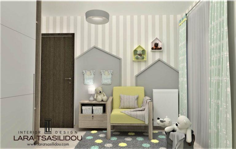 Παιδικό δωμάτιο Θεσσαλονίκη (5)